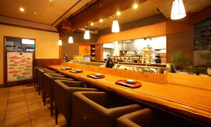 長崎市北部の昭和町近くの和食居酒屋