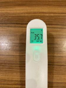 非接触検温器